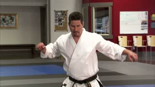 Martial Arts Instructor Performing Tae Kwon Do 5