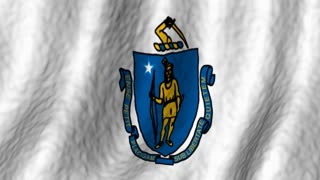 Massachusettes State Flag