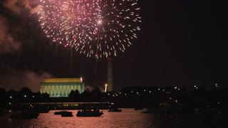 Massive Washington DC Fireworks Display
