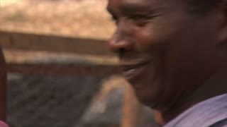 Mens Faces in Kenya, Africa