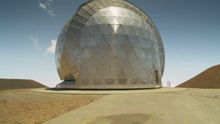 Metal Geometric Dome Exterior