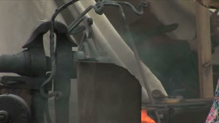 Metal Hammering Blacksmith