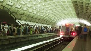 Metro Arrival Timelapse