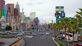 MGM Vegas Street Timelapse