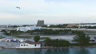 Miami Causeway Evening Timelapse