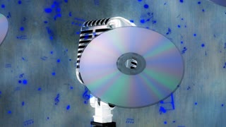 Microphone And CDs 2
