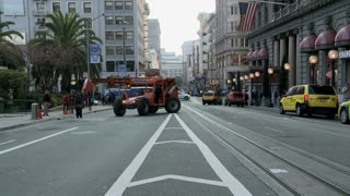 Middle Of San Francisco Street