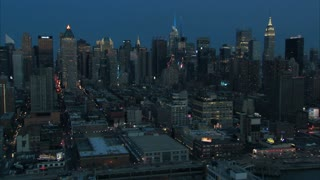 Midtown Manhattan NYC At Dawn