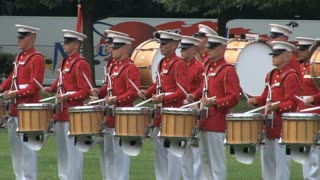 Military Band at Arlington National Cemetery 2