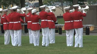 Military Band at Arlington National Cemetery