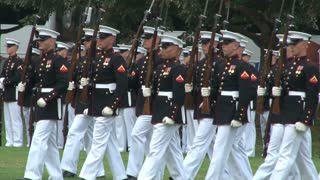 Military Unit Conducts Ceremony at Arlington National Cemetery 2