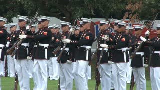 Military Unit Conducts Ceremony at Arlington National Cemetery 5