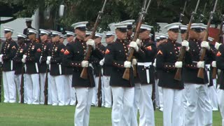 Military Unit Conducts Ceremony at Arlington National Cemetery