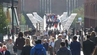 Millennium Bridge In London