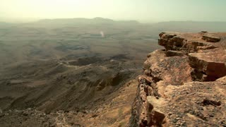 Mitzpe Ramon Crater Vastness