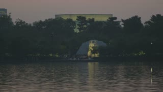 MLK memorial from across the river