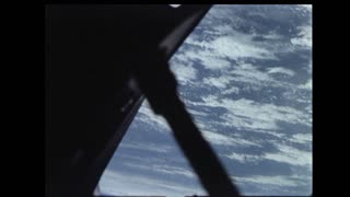 Module Passing Over Earth Atmosphere