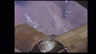 Module View Outside Apollo 7 Window