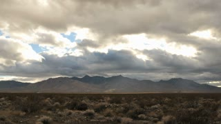 Mojave Desert Clouds Timelapse