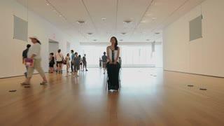 MOMA Spectators Timelapse