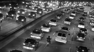 Monochrome Commute Timelapse