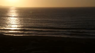 Monterey Bay At Sunset Pan