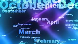 Months On Blue