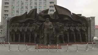 Monument for Chinese Korean War Heroes