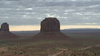 Monument Valley Landscape Cloud Lapse