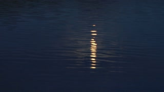 Moon Beams On Water