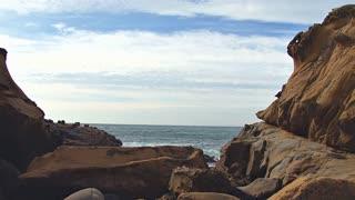 Moon Rocks On Coast