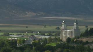 Mormon Temple Manti Utah