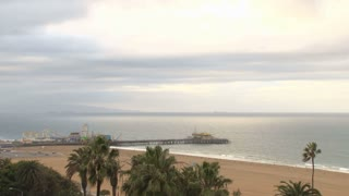 Morning California Pier