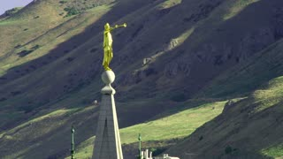 Moroni Statue