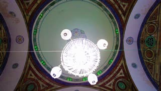 Mosque Interior Ceiling and Lighting