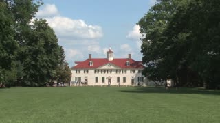 Mount Vernon from Middle Front Lawn