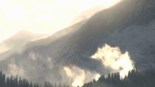 Mountain In Sunlight 2