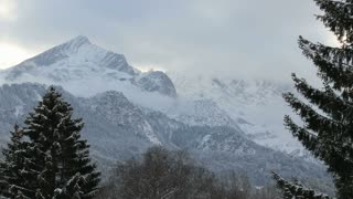 Mountain Veiw With Snow 3