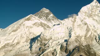 Mountain with Lhotse and Nuptse Peaks Nearby 2