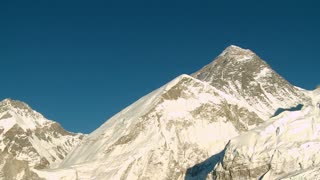 Mountain with Lhotse and Nuptse Peaks Nearby 3