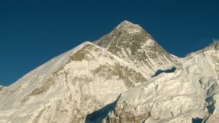 Mountain with Lhotse and Nuptse Peaks Nearby 4