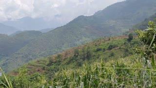 Mountainous Landscape Outside Panzhihua
