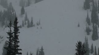 Mountainside Snowstorm 2