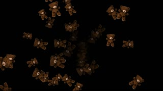 Movement appear teddy bear