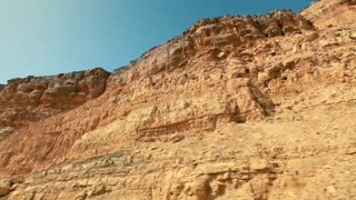 Moving at the Bottom of Mitzpe Ramon Crater 4