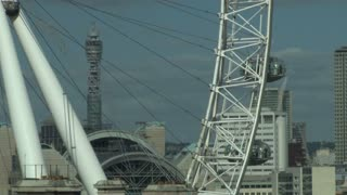Moving London Eye In England