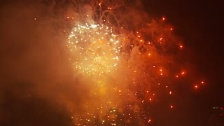 Multicolored Fireworks Finale