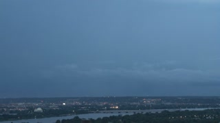 Multiple lighning strikes over DC