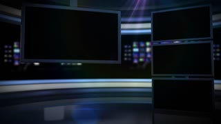 Multiple Screens Nightly News
