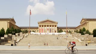 Museum of Art Rocky Steps